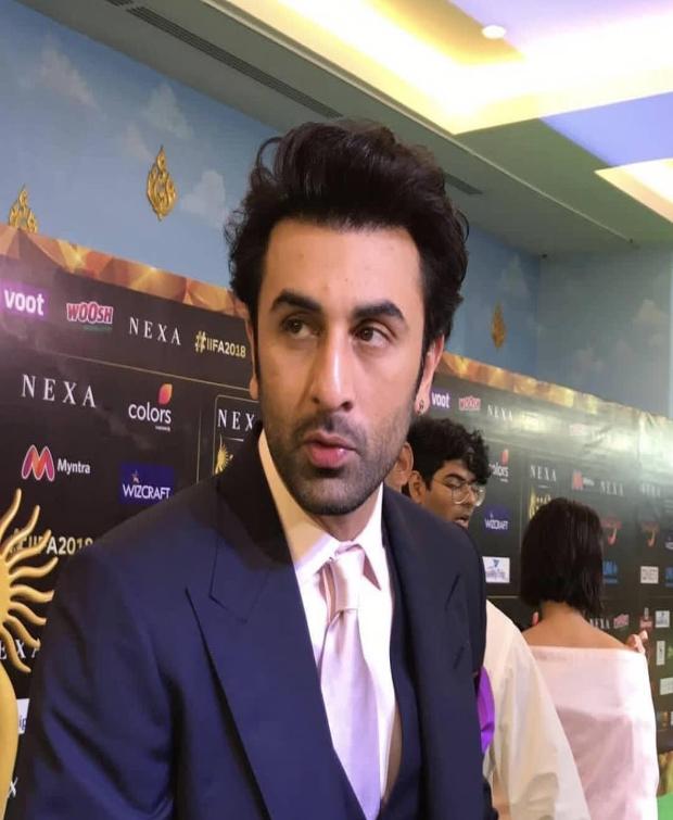 Ranbir Kapoor IIFA 2018 Awards