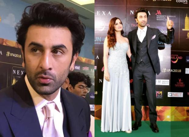 IIFA Awards 2018: Ranbir Kapoor keeps it slick in a suit