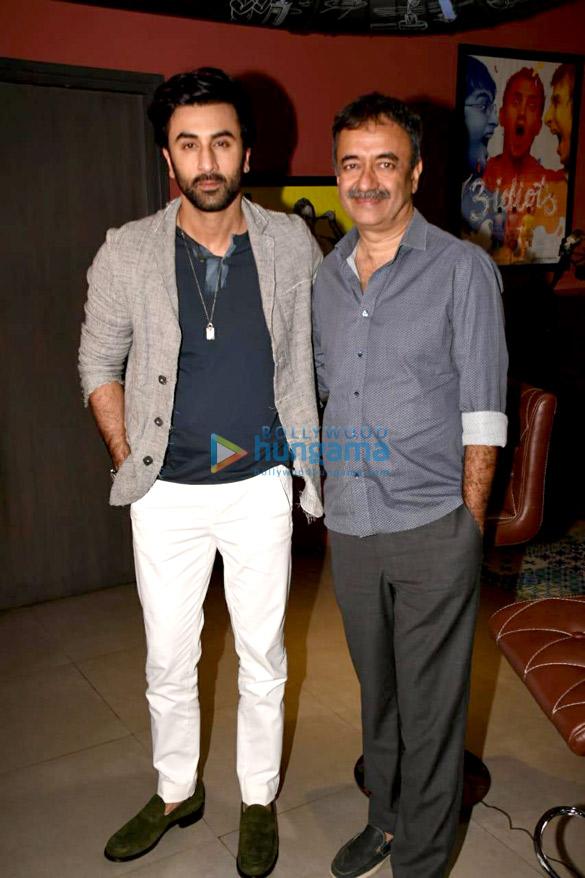 Ranbir Kapoor snapped during Sanju promotions