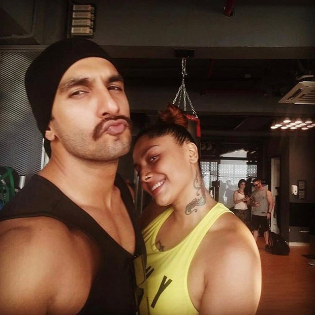 Ranveer Singh is beefing up for Rohit Shetty's Simmba and his new look is intriguing