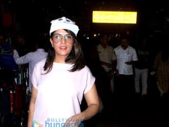 Richa Chadda and Radhika Apte snapped at the airport