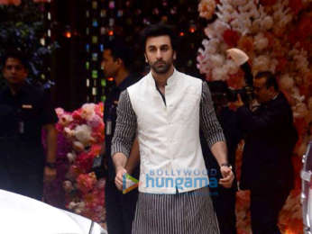 Shah Rukh Khan, Gauri Khan, Ranbir Kapoor and other celebs snapped at Akash Ambani - Shloka Mehta engagement ceremony