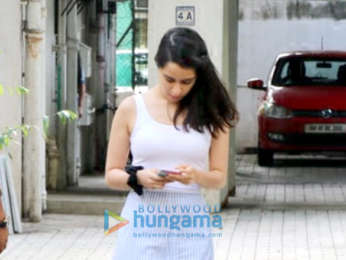 Shraddha Kapoor snapped at the office of Maddock Films in Bandra