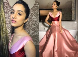 Shraddha Kapoor styled by Tanya Ghavri for IIFA 2018 in Reem Acra