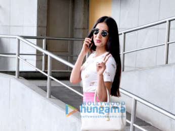 Sonal Chauhan spoted at PVR Icon in Andheri