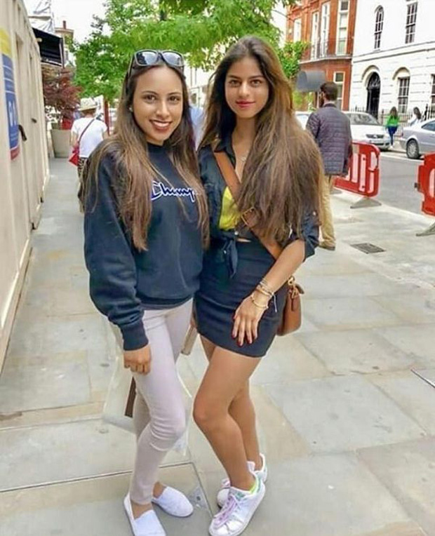 Suhana Khan is shining brightly in the London sun and her pictures are just too dazzling to miss!