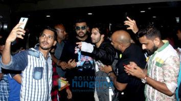 Varun Dhawan, Arjun Kapoor, Parineeti Chopra, Bobby Deol and others snapped at the airport
