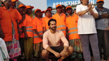 Varun Dhawan KICKS off a new clean-up drive on World Environment Day