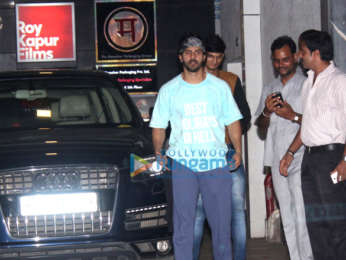 Varun Dhawan spotted outside his gym