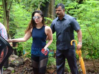 kareena kapoor spotted at dance rehearsal in bandra