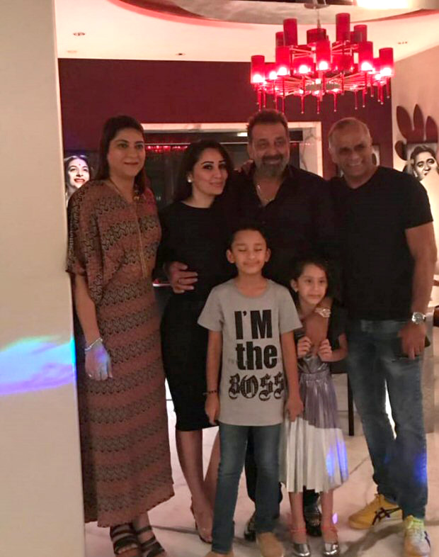 ALL inside pics: Sanjay Dutt celebrates his birthday in style!