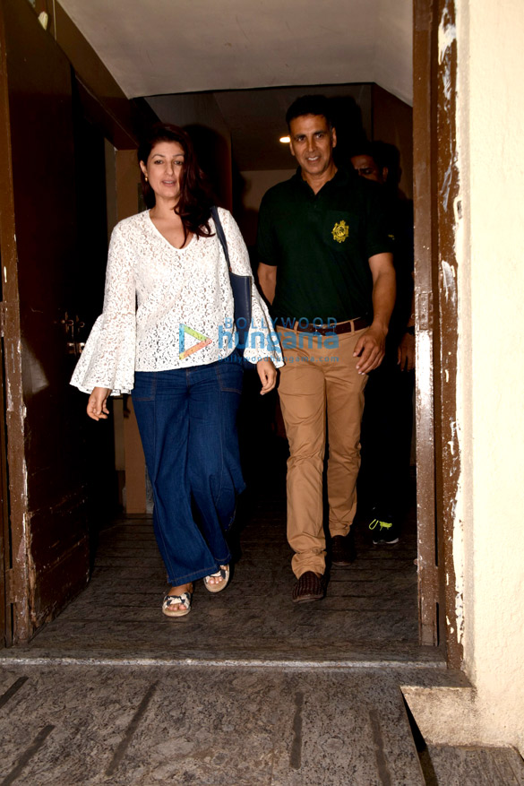 Akshay Kumar, Yami Gautam and Kartik Aaryan snapped at PVR, Juhu