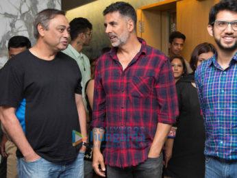Akshay Kumar hosted a special screening of Marathi film 'Chumbak' at Yashraj Film Studio