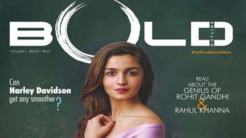 Alia Bhatt On The Cover Of Bold Magazine