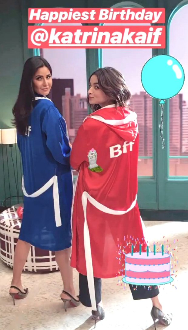 Amid dating Ranbir Kapoor, Alia Bhatt wishes Katrina Kaif on her 35th birthday