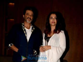 Anil Kapoor, Aishwarya Rai Bachchan and Rajkummar Rao snapped promoting Fanney Khan