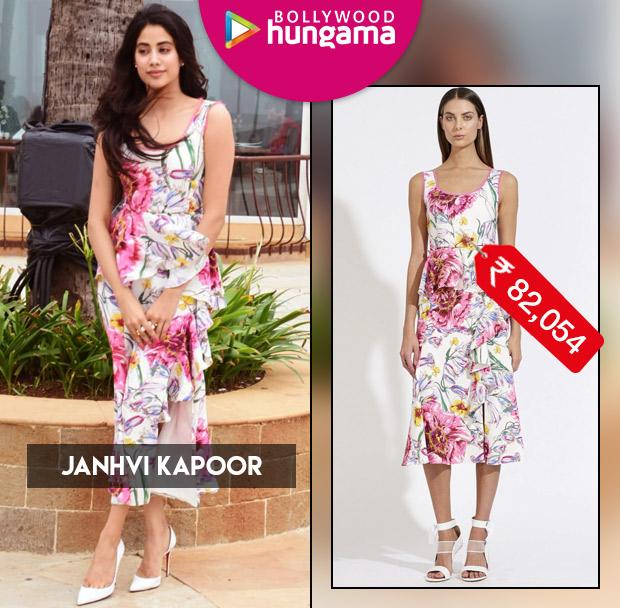 Celebrity Splurges - Janhvi Kapoor 2