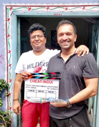 On The Sets Of The Movie Cheat India