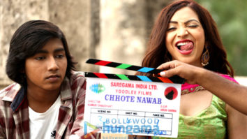 On The Sets Of The Movie Chhote Nawab
