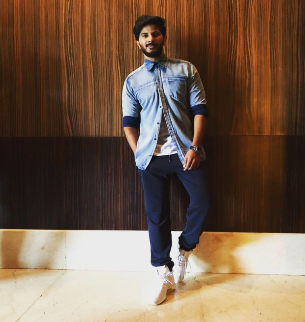 Dulquer Salmaan promotional style 1