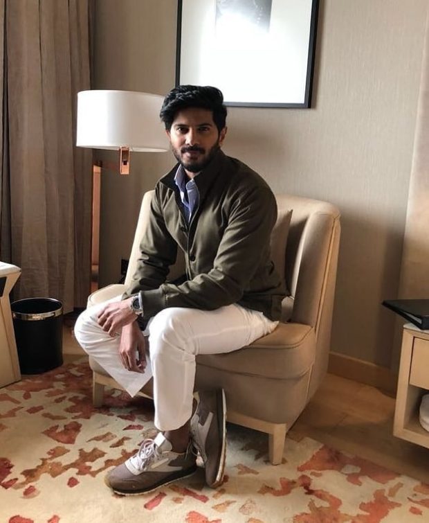 Dulquer Salmaan promotional style 2