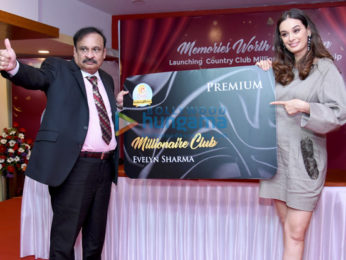 Evelyn Sharma launches Country Club's Millionaire Card