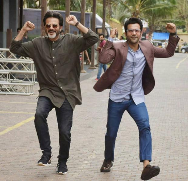 Fanney Khan Rajkummar Rao does Anil Kapoor's signature step and looks beyond JHAKAAS! Watch video