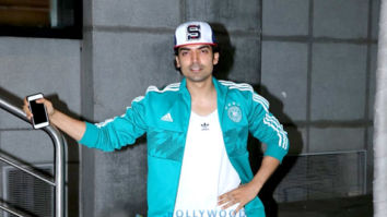 Gurmeet Choudhary spotted at Starbucks in Andheri