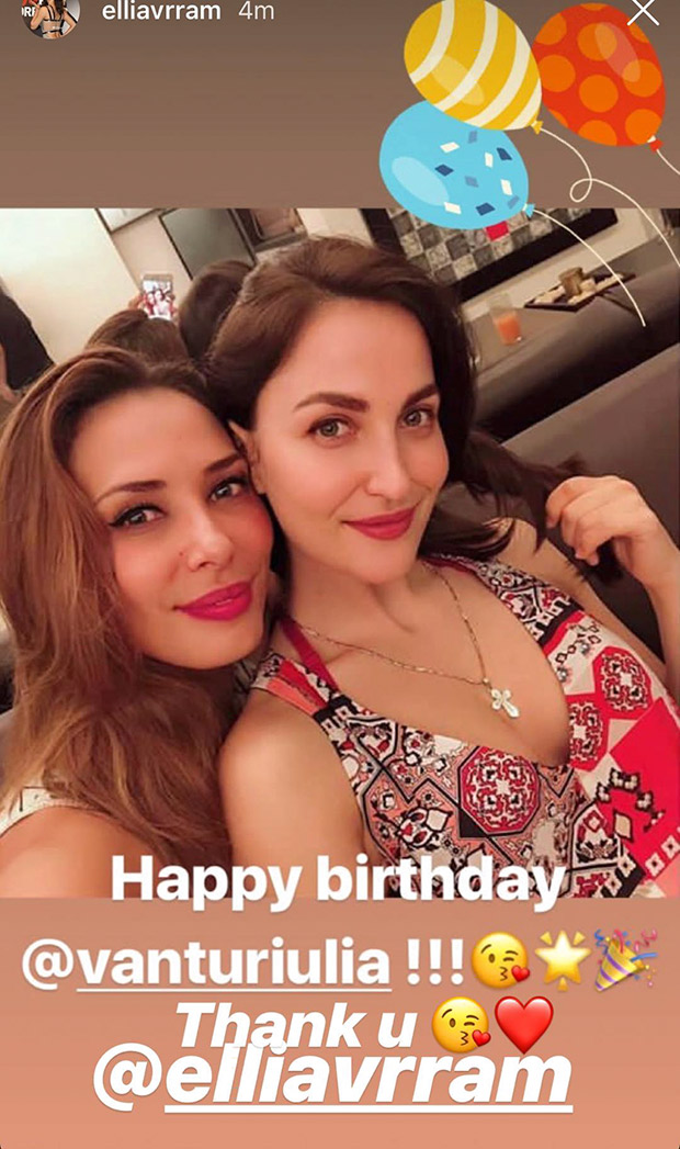 Here's how Salman Khan's Dabangg co-star Sonakshi Sinha celebrated Iulia Vantur's birthday