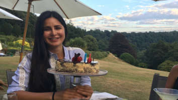 Inside pics Katrina Kaif looks ethereal as she cuts her birthday cake with fan (see pic)