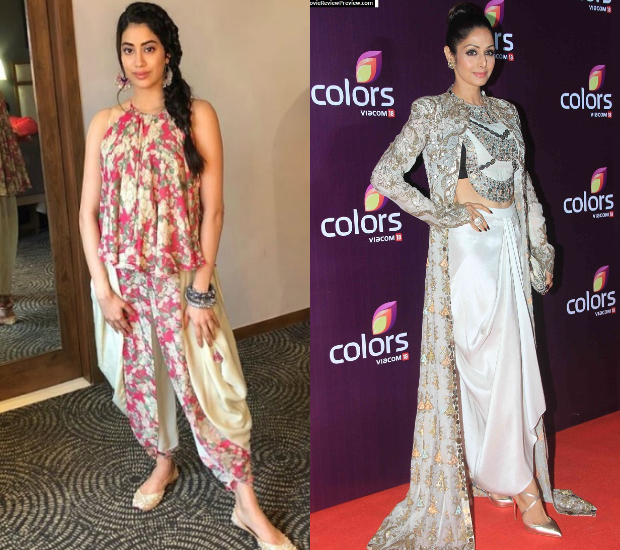 Janhvi Kapoor and Sridevi 2