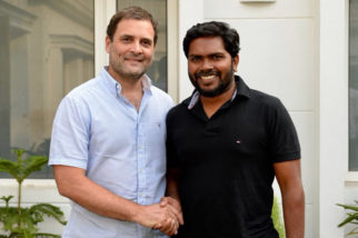 Kaala director Pa. Ranjith meets Congress President Rahul Gandhi and here are the pictures!