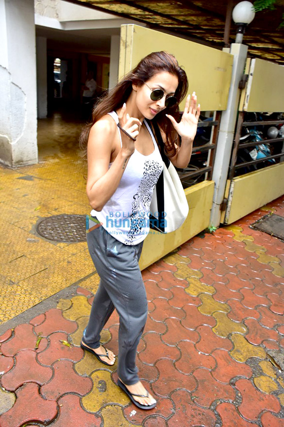 Malaika Arora spotted in Bandra