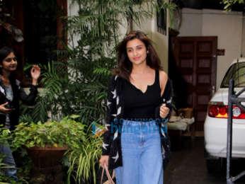 Parineeti Chopra snapped at salon