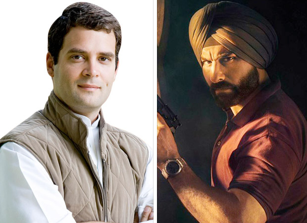 Rahul Gandhi supports makers of Sacred Games over the issue of insulting former PM Rajiv Gandhi