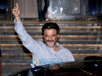 Rhea Kapoor and Anil Kapoor snapped at Indigo in Andheri