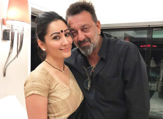 Sanjay Dutt takes a short family vacation before joining his Prassthanam shoot