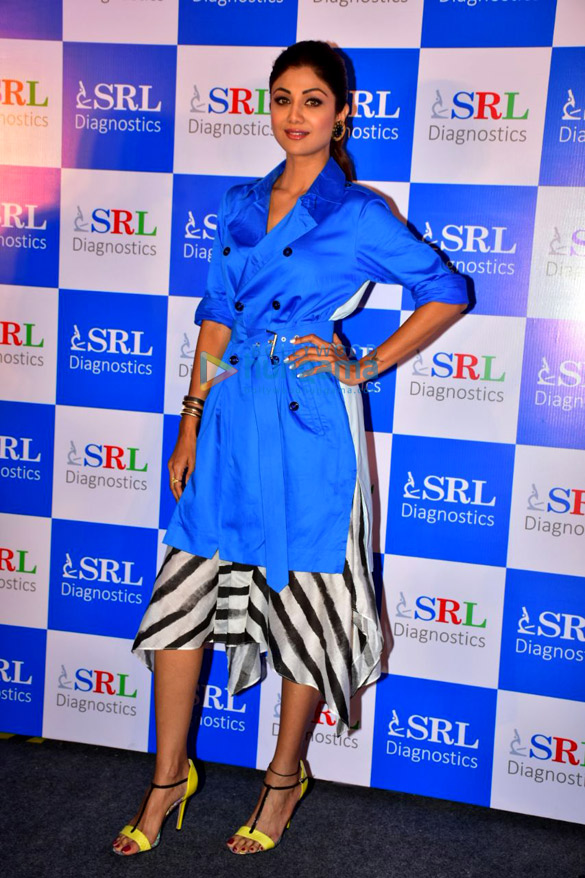 Shilpa Shetty attends the SRL event held at Taj Lands End in Bandra