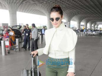 Sonam Kapoor Ahuja, Karan Johar, Evelyn Sharma and others snapped at the airport