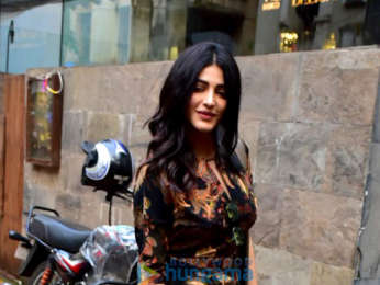 Sumeet Vyas and Shruti Haasan snapped at Indigo Delicatessen in Bandra