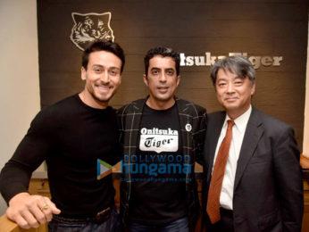 Tiger Shroff snapped at Onitsuka Tiger launch in Delhi