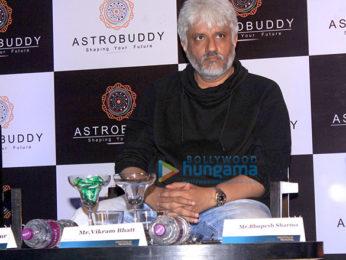 Vikram Bhatt graces the launch of the astrology app Astrobuddy