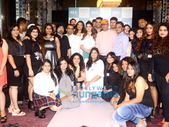 Zareen Khan and Narendra Kumar attend the LFW Plus Size Model auditions
