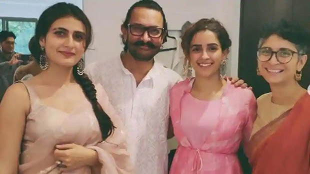 Aamir Khan and Kiran Rao celebrate Eid with Fatima Sana Shaikh, Sanya Malhotra and the Dangal fam! (see INSIDE pics)