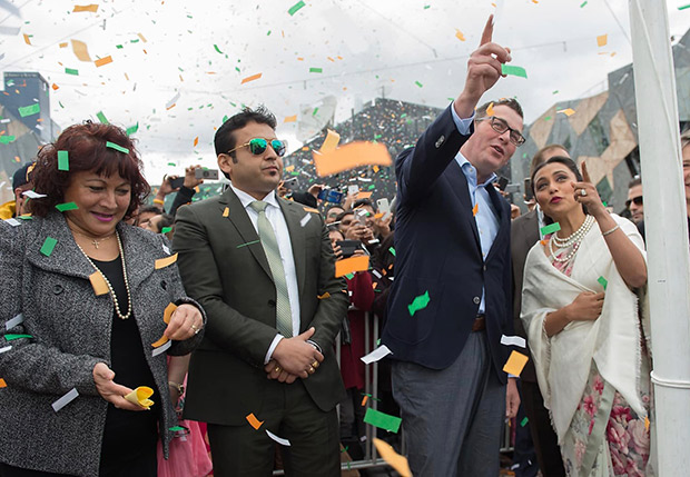 After meeting Rani Mukerji, Minister Daniel Andrews starts a 5 Million Dollar grant for Bollywood