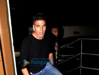 Akshay Kumar spotted at PVR, Juhu