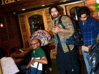 Ali Fazal spotted at Farmers' Cafe in Bandra