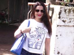 Ameesha Patel spotted at Kromakay salon in Juhu