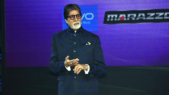 Amitabh Bachchan at the launch of 'Kaun Banega Crorepati 10' Part 1