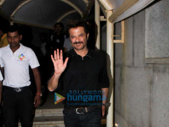 Anil Kapoor spotted at Hemant Oberoi's office in BKC
